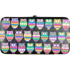 Owl Wallet ($7.97) ❤ liked on Polyvore featuring bags, wallets, accessories, purses, bolsas, handbags & wallets, women, genuine leather bag, leather owl bag and leather wallet