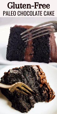 Healthy Chocolate Desserts, Gluten Free Chocolate Cake, Healthy Sweets, Vegan Desserts, Chocolate Recipes, Delicious Desserts, Avacado Chocolate Cake, Healthy Birthday Desserts, Chocolate Cake Video