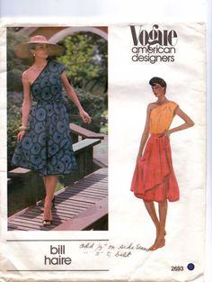 70s Vogue American Designer Pattern 2693 Bill Haire by CloesCloset, $23.00
