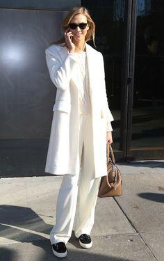 Karlie Kloss · Black On White