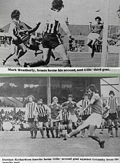 Gillingham 3 Grimsby Town 0 in Aug 1975 at Priestfield Stadium. Action from the Division clash. Grimsby Town Fc, Gillingham, Division, 1970s, Action, Football, Goals, Photos, Movies