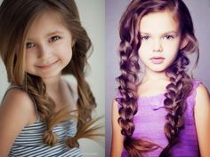 Красивые детские причёски для девочек