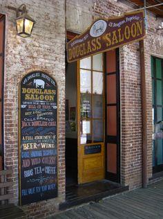 California - Tuolumne County - Columbia State Historic Park--don't forget your sarsaparilla at the salloon!