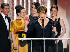 SAG Awards: Downton Abbey Cast Dresses Up : People.com