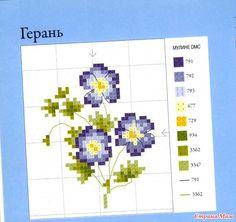 Цветочные мотивы для игольниц 5