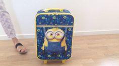 Minions trolley kuffert til børn, Bob