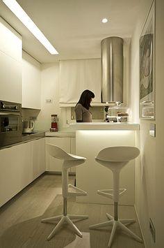 cucina stretta tavolo - Cerca con Google