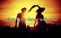 Swing, Salsa, Cupid Shuffle... doesn't matter as long as we're dancing together ;)