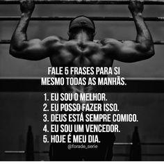 Seja o melhor. Miracle Morning, Harvey Specter, Workout Memes, Motivational Phrases, Powerful Words, Jiu Jitsu, Self Development, Inspire Me, Digital Marketing