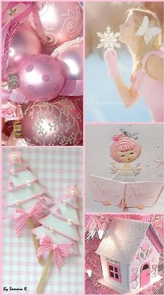 Pink Christmas By Sammie R