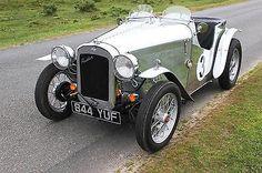 Austin 7 Austin Seven Special Alloy Body 1930 Original Austin 7 Engine & Chassis