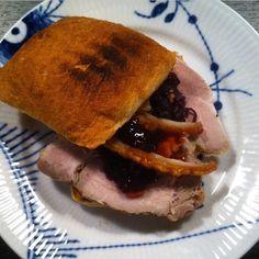 106 ❤️ hjemmelavet flæskestegs sandwich @frupoulsen