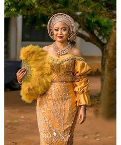23 Amazing Aso Ebi and Nigerian Lace styles 2018 To Try Nigerian Wedding Dresses Traditional, Nigerian Lace Styles, African Lace Styles, Traditional Wedding Attire, African Lace Dresses, African Traditional Wedding, African Fashion Dresses, African Outfits, Ankara Styles