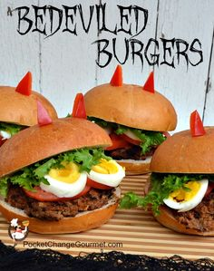 A tasty treat of a burger that will have you and your guests beguiled at your holiday party. PocketChangeGourmet.com