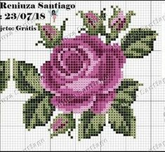 """🌺elemeği ürünler🌼's Instagram post: """"📍📍Hayırlı günler sağlıklı günler 🧡Şablonlar pinterestten . . 👉İletişim için DM 👈 #şablon #etamin #etaminşablonları #etaminşablon #kanavice…"""" Cross Stitch Heart, Cross Stitch Cards, Cross Stitch Flowers, Cross Stitching, Cross Stitch Embroidery, Hand Embroidery Flowers, Flower Embroidery Designs, Embroidery Patterns, Cross Stich Patterns Free"""