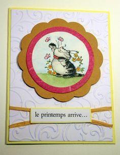 Carte Printemps # 1 (Scrapboocrys)
