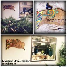 Insegna per negozio originale e naturale. Store, Storage, Business, Shop