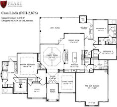 Single story open floor plans one story 3 bedroom 2 for Single story open concept house plans