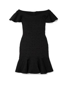 Jacquard Jersey No appliqués Basic solid color Round collar Short sleeves No pockets Rear closure Hook-and-bar Zip Unlined Stretch Dress For Short Women, Short Dresses, Jersey Jacquard, Opening Ceremony, World Of Fashion, Dress Outfits, Short Sleeves, Clothes For Women, Shorts