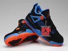 cheap for discount 03d88 d047b Air Jordan 4 Retro Cavs Black Blue Orange,Price  48
