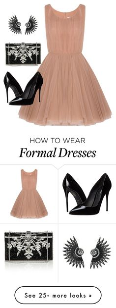 """Formal"" by history-lover on Polyvore featuring Lara Khoury, Dolce&Gabbana, Judith Leiber, formal, eveningwear and formalwear"