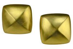 Givenchy Modernist Matte Earrings