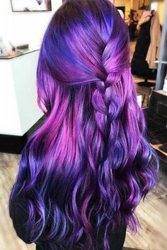 Purple Hair Styles that Will Make You Believe in Magic ★ See more: http://glaminati.com/purple-hair/
