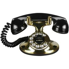 1930s Art Deco Brass Telephone (216.120 HUF) ❤ liked on Polyvore featuring home, home decor, wall art, decor, brass wall art, brass home decor and art deco home decor