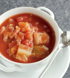 sweet and sour cabbage soup recipe    Plant-Based Nutritarian Weight Loss Recipe Blog