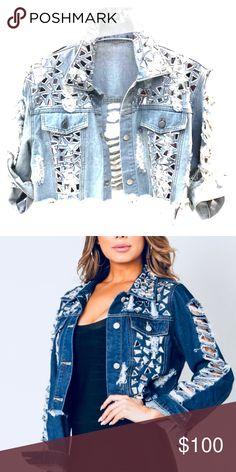 13b33e6371de Broken Mirror Denim Jacket (Darker Wash) Don t be like the rest of · Broken  MirrorJean JacketsRestCoatsWrapsDenim ...