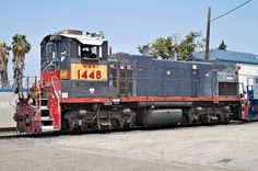 EMD MP15AC UPY 1448 Cab End - User:Morven - Wikimedia Commons
