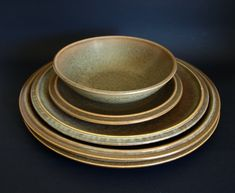 Temuka Pottery Riverstone Dinnerware Lot of 5 Pieces - Vintage Stoneware Earthenware - Dinner Plates Bowl - Made in New Zealand Earthenware, Stoneware, Moving Boxes, Retro Floral, Side Plates, Salad Plates, Dinner Plates, Tea Towels, Dinnerware