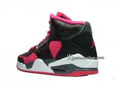 #Jordan Rare Air GS Gray, Hot Pink