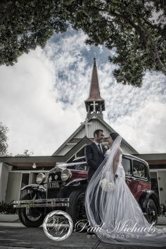 Wedding at St Alban's church at Eastbourne. Wellington weddings by PaulMichaels photography http://www.paulmichaels.co.nz/bede-dawn-wedding/