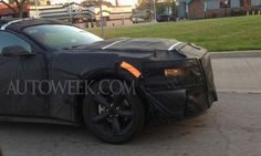 2015 Ford Mustang spotted testing in Detroit