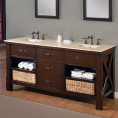 Best brown bathroom sink units one and only alexadecor.com