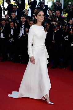 Marion Cotillard in Dior, 2013 - The Most Stunning Cannes Film Festival Gowns of All Time  - Photos