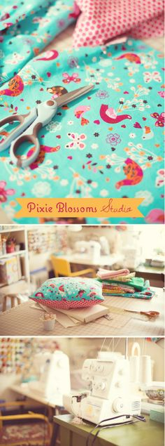 Pixie Blossoms Craft Room
