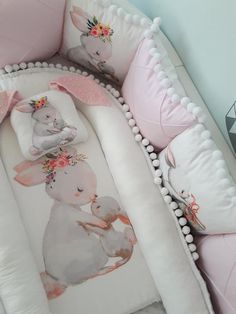 Outstanding Baby sleep problems tips are offered on our website. Baby Crib Bedding, Baby Pillows, Baby Bedroom, Baby Cribs, Baby Nest Pattern, Baby Nest Bed, Rabbit Baby, Baby Decor, Baby Sewing