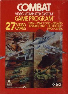Combat - came with the Atari 2600