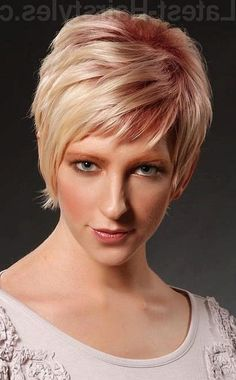 Latest Short Pixie haircuts cannot only emphasize the beauty of the female face, but also make the image more noticeable and charming. Get your inspiration!, Pixie Cuts