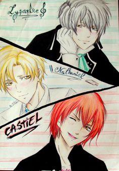 Lysandre /Nathaniel /Castiel