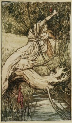 Arthur Rackham - Ophelia