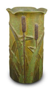Ephraim Faience Pottery - Marsh Cattail