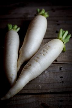 Fresh Daikon: just got some seeds from our local Korean market. Can't wait to grow these!