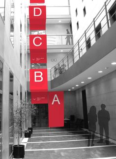 Elisava School of Design Signage by Javi Sastre, via Behance