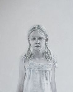 Julia, oil on board, cm 25x20 Adria Sartore