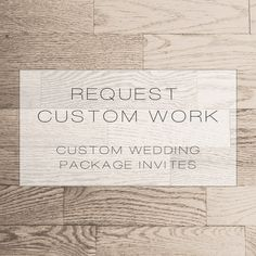 •Request Custom Wedding Package Invites•    All watermarks (logo) will be removed at your first proof.  ………………………………………………………………………………………………………………...............................    •This listing is for a Custom Printable DIY Wedding Package Invitation•    •Wedding Invitation, Accommodations Card, RS