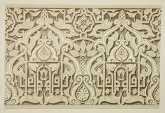 Islamic Art, Art And Architecture, Gypsum, Plaster, Drawings, Morocco, Exterior, Patterns, Random
