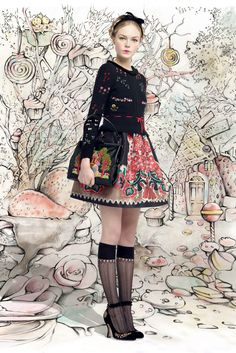 Red Valentino - Fall 2013 Ready-to-Wear - Look 3 of 31